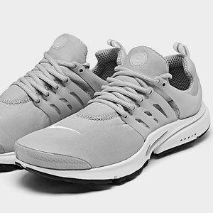 Nike Air Presto Shoes Light Smoke Grey White Black